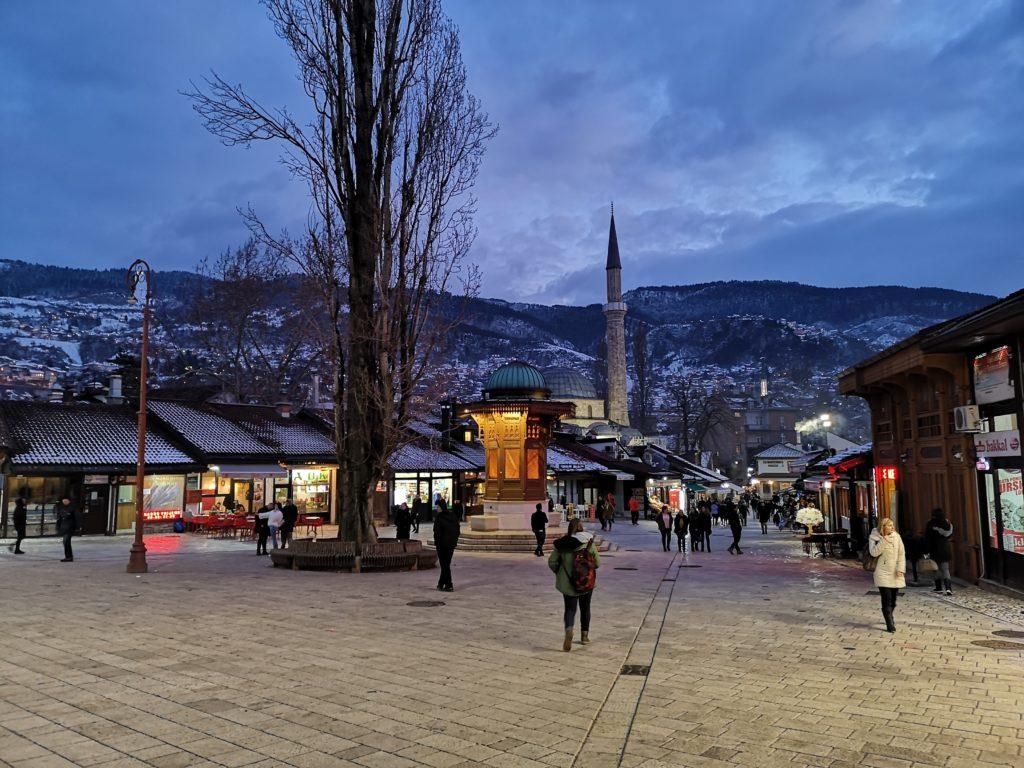 Baščaršija, Sarajevo, Gas only